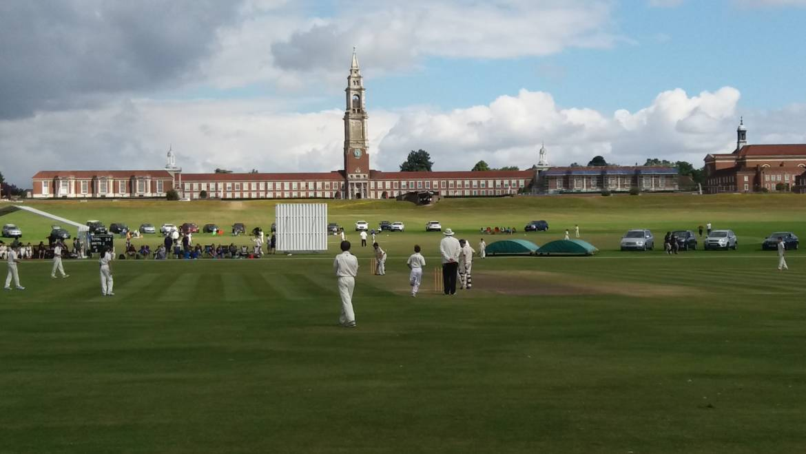 Jack Russell set to paint cricket at Royal Hospital School, Suffolk