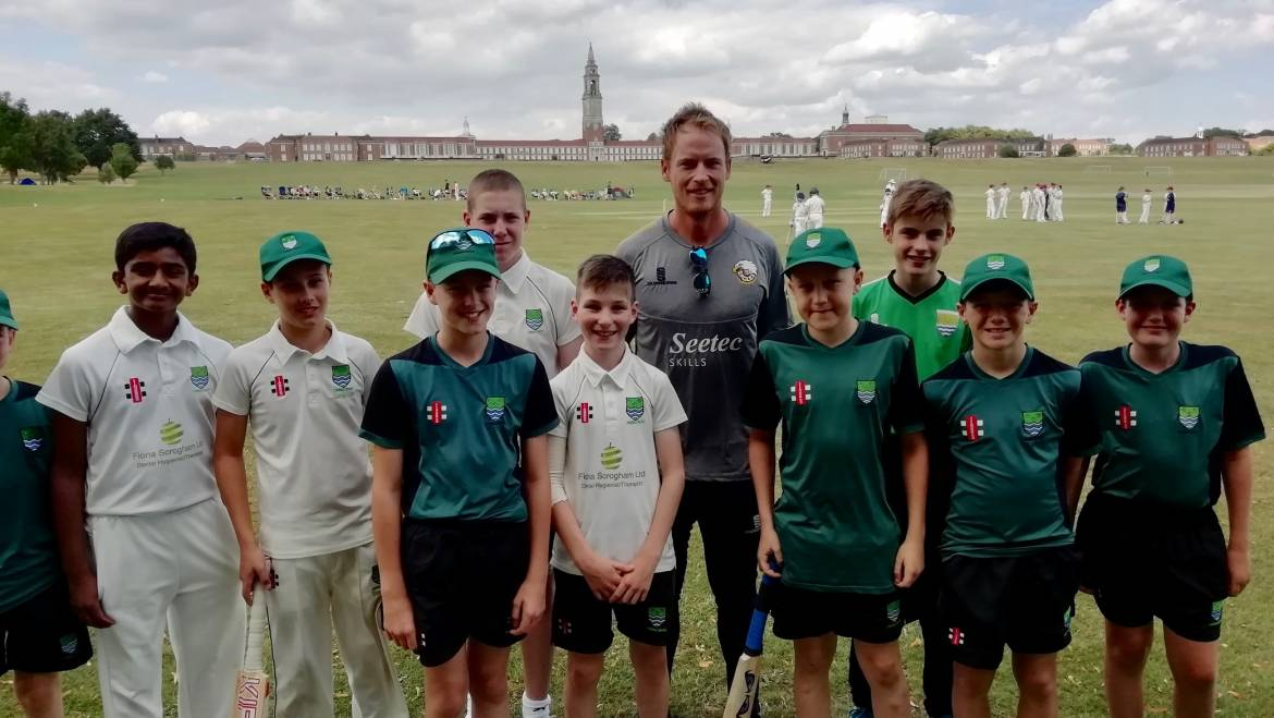 England and Essex's Tom Westley visits MCCF – Day One